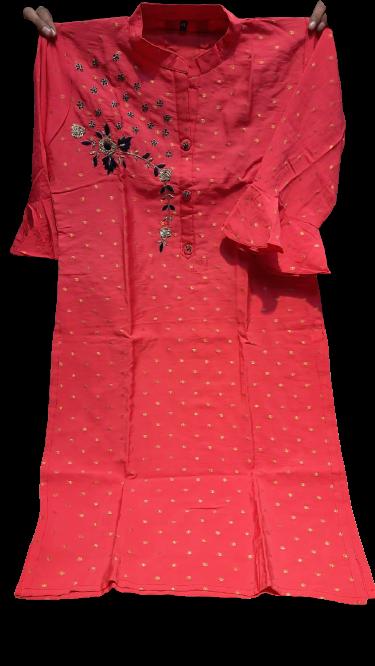 Pink Kurthi